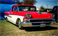 1958 Ford Ranchero - American Made Car Show 2016 - Whittier, CA