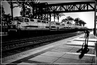 Metrolink at Fullerton Station - Sep 2008