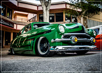 1951 Ford Shoebox - Uptown Whittier Car Show - June 2016