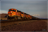 BNSF 7780 West at Siberia - March 2016