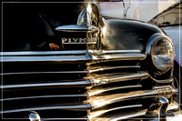 Plymouth grill - Ruby's Cruise Night 2016 - Whittier, CA