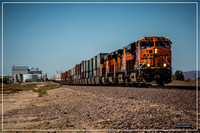 BNSF 7149 East at Newberry Springs Road. Newberry Springs, CA