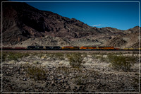 BNSF 7283 Eastbound in the Heart of the Mojave