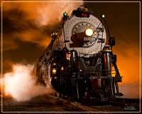 Fullerton Railroad Days Night Shoot with ATSF 3751