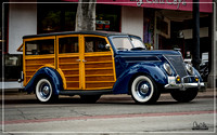1937 Ford Woody Wagon - Uptown Whittier Car Show 2017