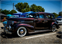 1939 Chevrolet Master Deluxe - Kustom Oldies Car Show 2017 - Whi