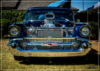 1957 Chevrolet BelAir - American Made Car Show 2016 - Whittier, C