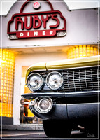 Cadillac Coupe DeVille - Ruby's Friday Night Cruz - Sep 2016