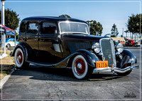 1934 Ford Sedan - Great Labor Day Cruise 2016