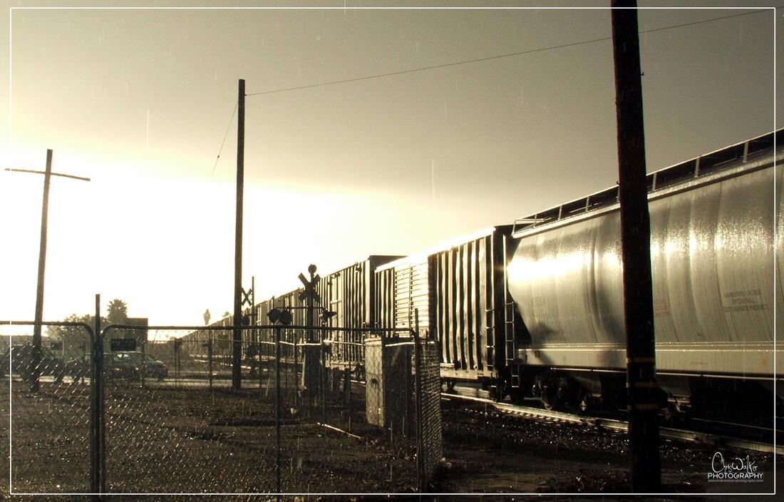 Union Pacific Huntington Beach Local - Anaheim, CA