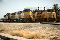 UP 6331 and UP 2659 at Dominguez Yard - May 2016