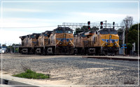 UP 5693 & UP 8155 - Dominguez Yard - Carson, CA