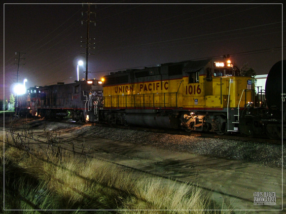 Union Pacific Norwalk switcher at the Coca Cola plant - Downey, CA