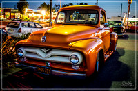 1955 Ford Truck - Bob's Big Boy Broiler - Wed. Cruise Night - April 2015 - Downey, CA