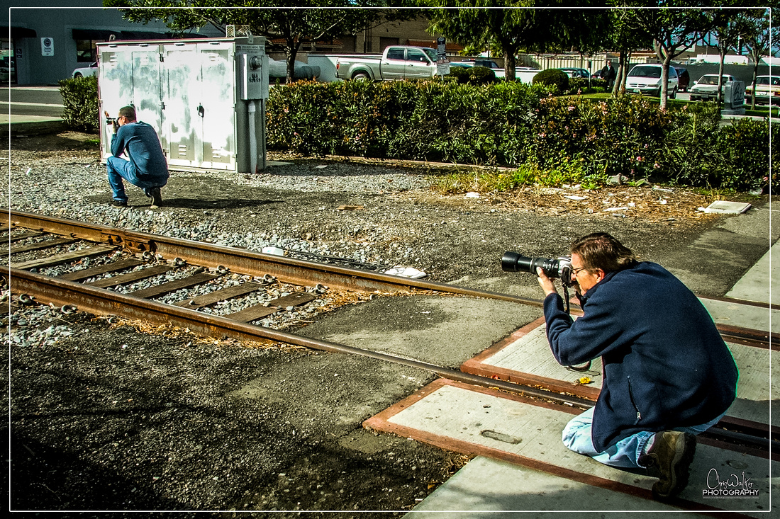 Ryan and Jeff getting images of the LOA32 in HB